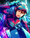 (A Hero's Partner) Chiaki Morisawa Frameless Bloomed
