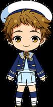 Mitsuru Tenma 3rd CD Outfit chibi