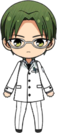 Keito Hasumi Researcher Outfit chibi