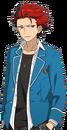 Kuro Kiryu (Card) Full Render Bloomed