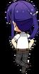 Souma Kanzaki Student Uniform (Summer) chibi back
