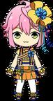 Tori Himemiya Party Outfit chibi