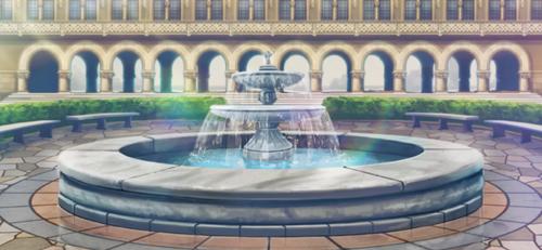 Yumenosaki Academy Fountain Full