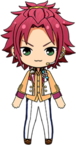Mao Isara 4th Anniversary Outfit chibi