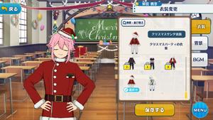 Tori Himemiya 2018 Christmas Santa Outfit