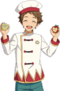 (Dwarf of Cooking) Mitsuru Tenma Full Render Bloomed