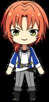 Leo Tsukinaga academy idol uniform chibi