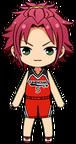Mao Isara Basketball Club Uniform chibi