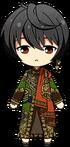 Ritsu Sakuma Black Tea Outfit chibi