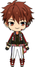 Chiaki Morisawa ES RYUSEITAI Uniform chibi