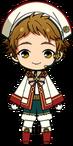 Mitsuru Tenma Starfes Outfit chibi
