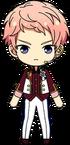 Shu Itsuki 4th Anniversary Outfit chibi