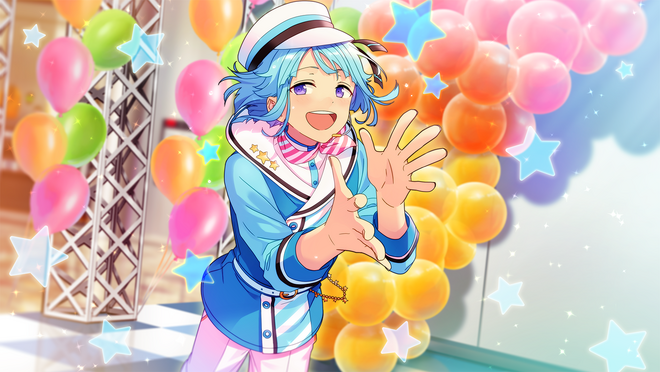 (Flower Blossoming Smile) Hajime Shino CG2