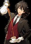 (Kind Butler) Rei Sakuma Full Render Bloomed