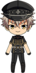 Koga Oogami 3rd CD Outfit chibi