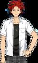 Kuro Kiryu 1st Year Summer School Dialogue Render