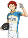 (Bicycle and Assistance) Kuro Kiryu Full Render Bloomed