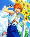 (Sparkling Sunflowers) Subaru Akehoshi Frameless Bloomed