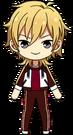 Kaoru Hakaze Chocolat Fes Practice Outfit chibi