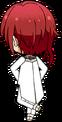 Natsume Sakasaki White Rose chibi back
