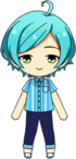 Kanata Shinkai Own Clothes Summer chibi