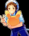 (Shining Rabbits) Mitsuru Tenma Full Render