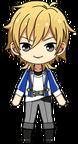 Kaoru Hakaze academy idol uniform chibi