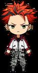 Kuro Kiryu Sportswear (Red) chibi