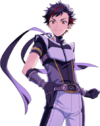 (Black of Diligence) Tetora Nagumo Full Render Bloomed
