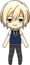 Eichi Tenshouin Summer Uniform chibi