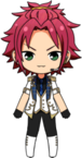Mao Isara Duel Outfit chibi