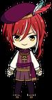 Natsume Sakasaki Rosicrucian Story chibi