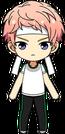 Shu Itsuki White Team chibi