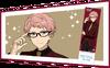 Shu Itsuki JINS Glasses Closeup