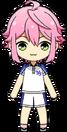 Tori Himemiya Tennis Outfit chibi