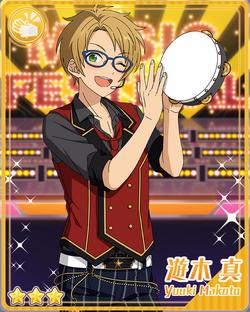 (Happy Tambourine) Makoto Yuuki Bloomed