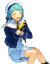(Heart Throbbing Rabbit) Hajime Shino Full Render Bloomed