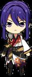 Souma Kanzaki ES AKATSUKI Uniform chibi