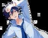 (With All His Might) Hokuto Hidaka Full Render