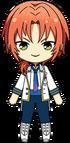 Leo Tsukinaga ES Idol Uniform chibi
