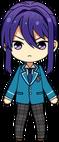 Souma Kanzaki Student Uniform chibi
