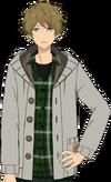 Midori Takamine Casual Winter 2 Dialogue Render