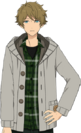 Midori Takamine Casual Winter 2 Dialogue Render