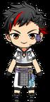 Tetora Nagumo Tanabata Outfit chibi