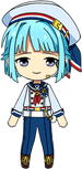 Hajime Shino ES Ra*bits Uniform chibi
