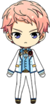 Shu Itsuki 3rd Anniversary Outfit chibi
