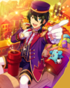 (Train Conductor's Whistle) Mika Kagehira Frameless Bloomed
