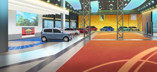 Motor Show Venue Full