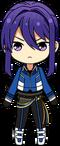 Souma Kanzaki RYUSEITAI Uniform chibi