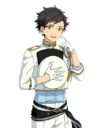 (Admiring Navy Uniform) Tetora Nagumo Full Render